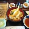 いつ食べても美味しいゆらりの天ぷらそば定食